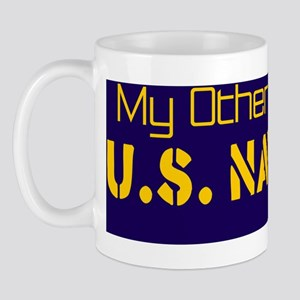 My Other Car Is a US Navy Jet Mug