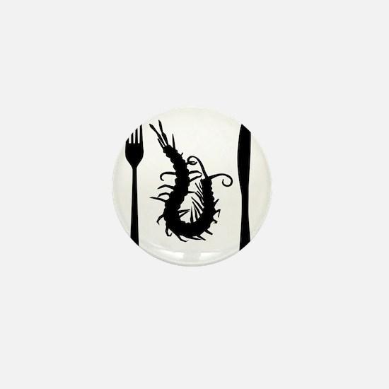 centipede-black Mini Button