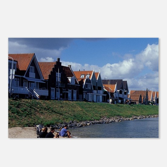 Volendam. traditional 14t Postcards (Package of 8)