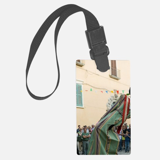 TROPEA: Calabrian Folk Dancing F Luggage Tag