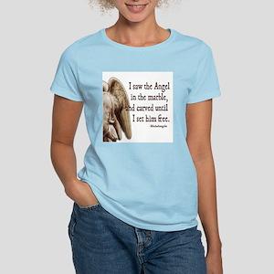 Michelangelo Angel Women's Light T-Shirt