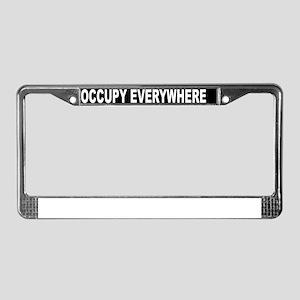 OCCUPY EVERYWHERE License Plate Frame