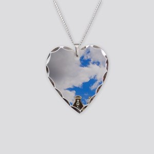 View of the unique architectu Necklace Heart Charm
