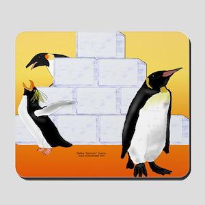 Multi Penguin Mouse Pad