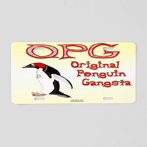 OPG License Plate