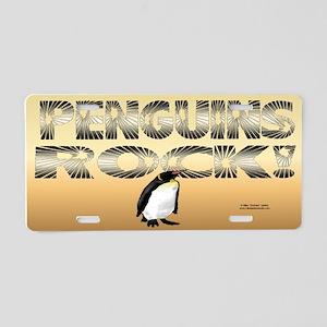 Penguins Rock! License Plate