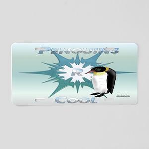 Penguins R Cool License Plate