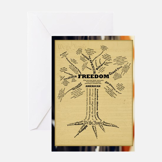 FreedomTree_9x12 Greeting Card