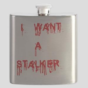 I want a stalker-blood white background Flask