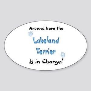 Lakeland Charge Oval Sticker