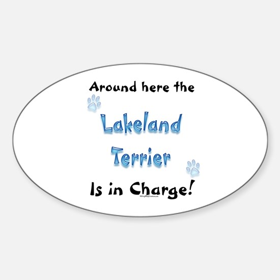 Lakeland Charge Oval Decal