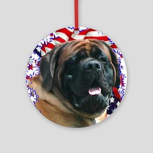 Mastiff Pride(apricot) Ornament (Round)