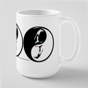 Penguin Yin Yang Mugs