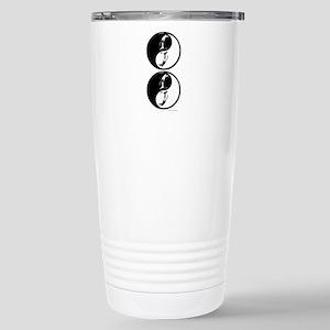 Penguin Yin Yang Travel Mug