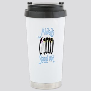 Stand Out Penguin Travel Mug