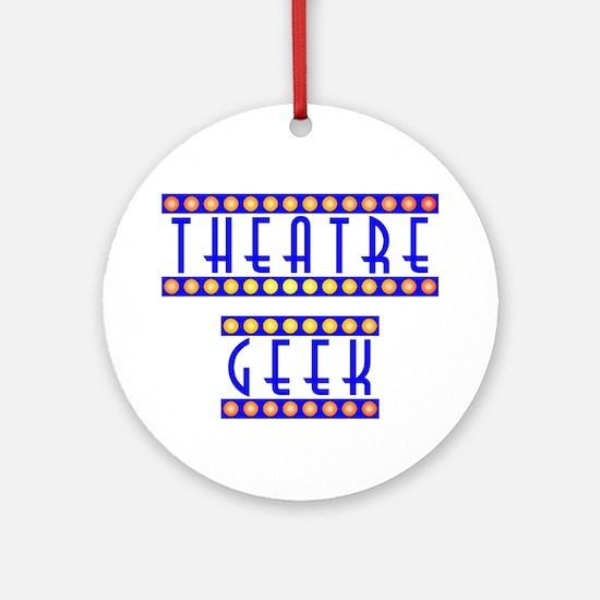 Theatre Geek Ornament (Round)
