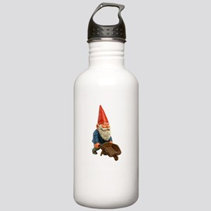 Rollin Gnomies White Stainless Water Bottle 1.0L