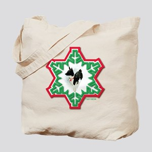 FINAL ART 2011 Snowflake Weasel Tote Bag