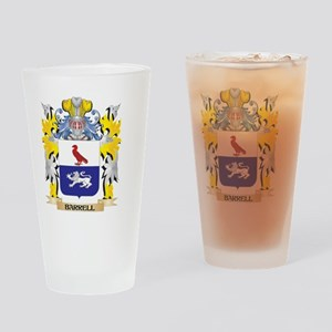 Barrell Coat of Arms - Family Crest Drinking Glass