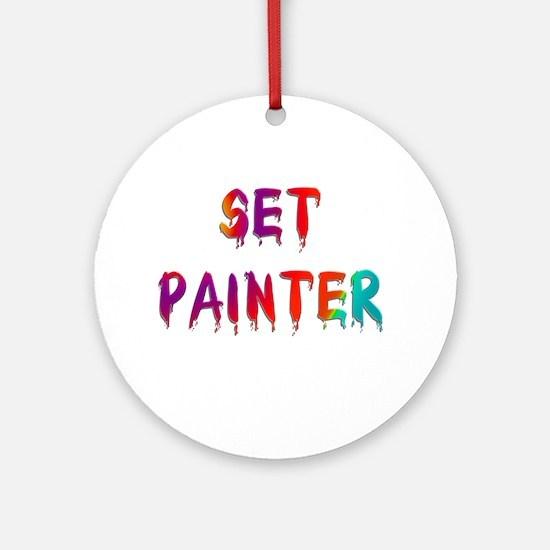 Set Painter Ornament (Round)