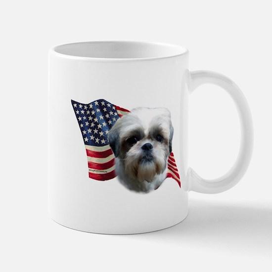 Shih Tzu Flag Mug