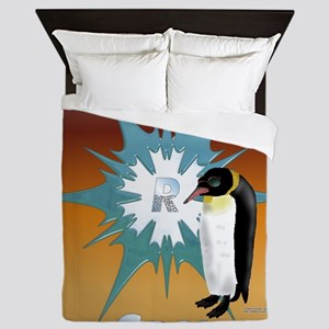 Penguins R Cool Queen Duvet