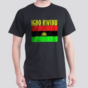 Biafran flag Dark T-Shirt