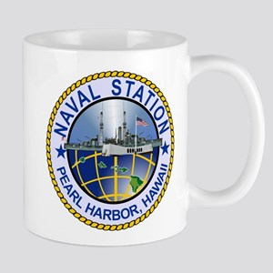 Naval Station Pearl Harbor Travel Mugs