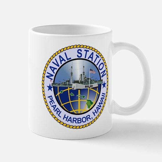 Naval Station Pearl Harbor Travel Mugs