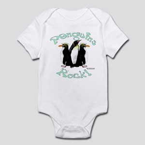 Penguins Rock Infant Bodysuit