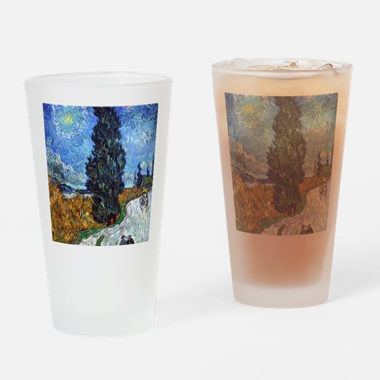 Van Gogh Drinking Glass