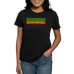 Christmas Pizza And Mirth Women's Dark T-Shirt
