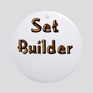 Set Builder Ornament (Round)
