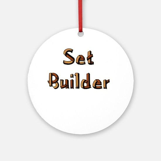 Set Builder Ornament (Round)