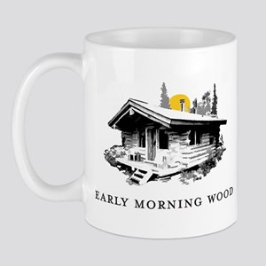 Early Morning Wood Mug
