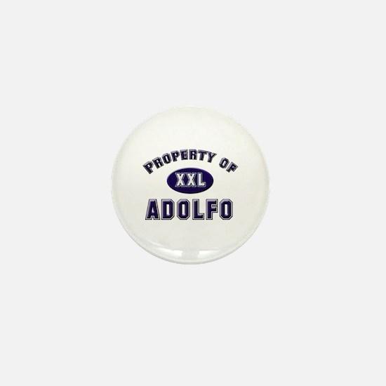 Property of adolfo Mini Button