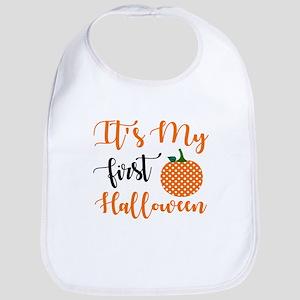 First Halloween Baby Bib