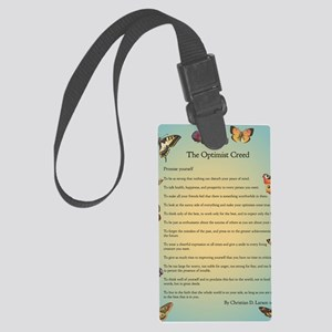 Optimist Creed Large Luggage Tag