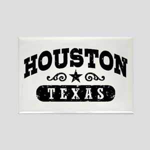 Houston Texas Rectangle Magnet