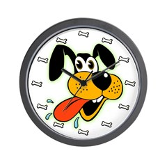 Cartoon Dog Wall Clock
