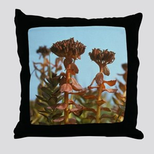 Arakamchechen Island. Tundra floweram Throw Pillow