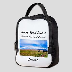 Great Sand Dunes National Park Neoprene Lunch Bag