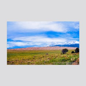 Great Sand Dunes National Park An 35x21 Wall Decal