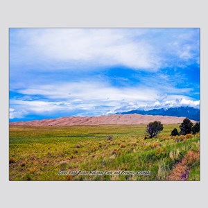 Great Sand Dunes National Park And Pr Small Poster