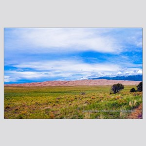 Great Sand Dunes National Park And Pr Large Poster