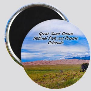 Great Sand Dunes National Park And Magnets