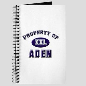 Property of aden Journal