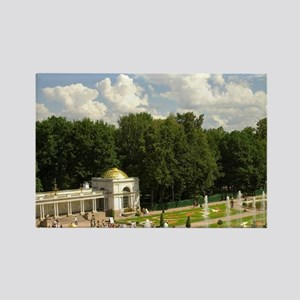 Russia. Petrodvorets. Peterhof Pa Rectangle Magnet