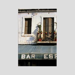 Bar Espanol in rural, Spain. Rectangle Magnet