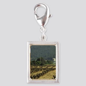 The Cava Capital, famous win Silver Portrait Charm